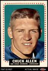 1964 Topps #154 Chuck Allen Chargers EX/MT $22.0 USD on eBay