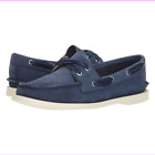 Sperry Top-Sider A/O Satin Lace Women's Boat Shoes Navy