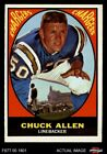 1967 Topps #129 Chuck Allen Chargers Washington 3 - VG $2.2 USD on eBay
