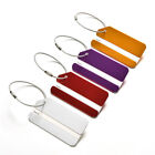 Kyпить Aluminum Metal Luggage Tags Labels Strong Baggage Holiday Travel Identity EF на еВаy.соm