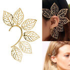 1PC Alloy Hollow Leaf Ear Cuff Non Piercing Earring Wrap Women Fashion Jewelry, used for sale  China