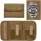 Tactical Wallet Tri-Fold ID Heavy Duty Commando Camo Military Army Security