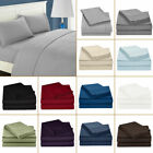 Liquidation Sale 4 PCs Sheet Set Egyptian Cotton flat,fitted,pillowcase Softest image