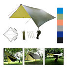 10x10ft  Lightweight Camping Tent Tarp Shelter Mat Hammock Cover Waterproof Gear