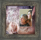 **NEW** Thank You to My Caregiver, Inspirational Picture Frame, 10x10 6344