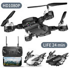 Drone Selfie WIFI FPV GPS With 1080P HD Camera Foldable RC Quadcopter US