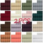 2PC Home Collection Bedding high Egyptian Quality Striped Bed Sheet Set 6 Pieces image