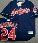 MANNY RAMIREZ CLEVELAND INDIANS JERSEY COOL BASE SIZE LARGE MAJESTIC NEW