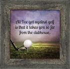 **NEW** Elegantly Yours Golf, Funny Golf Gifts Men Picture Frame, 10X10 8664