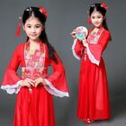 Kids Girls Ancient Costume Han Tang Chinese Princess Dress Party Cosplay Dresses