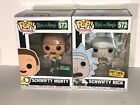 Funko Pop Animation Exclusive Rick and Morty characters 572 573