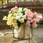 10 Heads Artificial Silk Flowers Wedding Bouquets Fake Floral Plants Home Decor