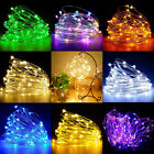 LED Fairy Lights Outdoor String Light Copper Wire 50/100LED Waterproof Christmas