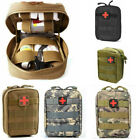 Sports First Aid Kit Utility Bag Tactical MOLLE Rip-Away EMT IFAK Medical Pouch