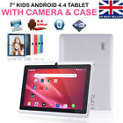 7 Inch Android Tablet 4gb Quad Core 4.4 Dual Camera Bluetooth Wifi Tablet Uk New