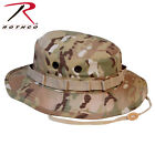 Boonie Hat Multicam Camo Mil-Spec Ripstop Vented Shell Loops Rothco 5892