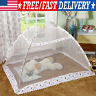 Portable Baby Toddler Kids Pop Up Mosquito Netting Bed Safety Tent Canopy Cover image