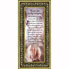 **NEW** Thank You to My Caregiver, Inspirational Picture Frame, 6x12 7369