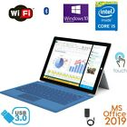 "Microsoft Surface Pro 3 12"" Core i5/i7 256GB 8GB RAM Win10 MS Office 2019 bundle"