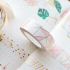1PC Tape Diary Highlight Paper Sticker Decorative Pink Gold Foil Adhesive Sticky on eBay
