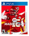 Madden NFL 20 super star edition (playstation 4) brand new factory sealed
