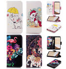 Pu Leather Wallet Case Flip Cover Kickstand Card Slot For Phones Lovely Animals
