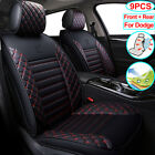 9PCS Car Seat Cover PU Leather Full Set Fit for Dodge Charger Durango Journey $185.7 USD on eBay
