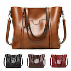 Women Large Soft Leather Shopping Bag Crossbody Satchel Shoulder Handbag Purse  image