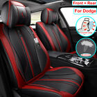 PU Leather Car Seat Cover Car Accessories Fit for Dodge Charger Journey Durango $288.97 CAD on eBay