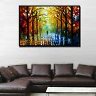 Colorful Tree Forest Abstract Canvas Painting Wall Art Picture Prints Home Decor