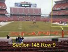 2 Cleveland Browns vs Cincinnati Bengals Tickets Lower Level Section 146 Row 9 on eBay