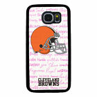 CLEVELAND BROWNS PHONE CASE FOR SAMSUNG GALAXY S6 S7 S8 S9 S10 E PLUS EDGE NOTE $14.99 USD on eBay