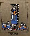 🐾NWT MEN M-2XL KLiBAN Basketball CAT Kilban CRAZY SHiRT Hawaii Crater Dyed GRAY