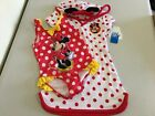 NWT Disney Minnie Mouse Deluxe Swimsuit Cover Up 2 pc UPF 50 Red Girls