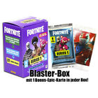 FORTNITE Panini Sammelkarten Starter Pack Fat Blaster Booster Epic Bonus Card