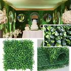Artificial Boxwood Hedge Fake Vertical Garden Funny Green Wall Ivy Fence Mat
