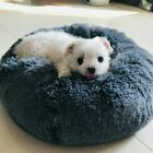 Dog Pet Bed Washable Cover Creative Dog Calming Bed Round Nest Warm Soft Plush