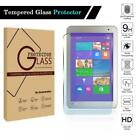 "For 8"" Toshiba Encore Tablet - Tempered Glass Screen Protector Cover Film"