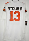 CLEVELAND BROWN ODELL BECKHAM JR WHITE JERSEY STITCHED NWT on eBay