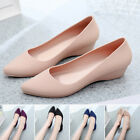 Ladies PVC Slip On Breathable Comfy Sandals Non Skid Low Cut Casual Work Shoes