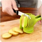 New Potato Food Tomato Vegetable Fruit Onion Lemon Slicer Egg Peel Cutter Holder