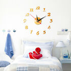 1PC Large Removable DIY Acrylic 3D Mirror Wall Sticker Decorative Clock Hands