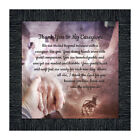 **NEW** Thank You to My Caregiver, Inspirational Picture Frame