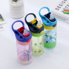 MagiDeal Kids Travel Feeding Drinking Straw Bottle Sippy Suction Cup 450ML