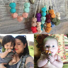 1PC Baby Teething Necklace For Mom Baby Teether Toy Food Grade Silicone Safe