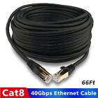 Lot Cat 8 Ethernet Cable Network Gigabit Cord for Router Switch Server Outdoor