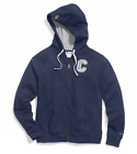 Champion Women's Plus Size Heritage Full Zip Hoodie Sweatshirt Imperial Blue