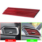 10x Universal Air Conditioner Air Outlet Decor Strip Car Sticker Car Accessories $3.23 CAD on eBay