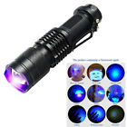 Useful Ultra Violet LED Flashlight Light 395nm/365nM Inspection Lamp Torch Tool