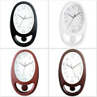 Pendulum Wall Clock Oval Shape For Home And Office Free Worldwide Shipping